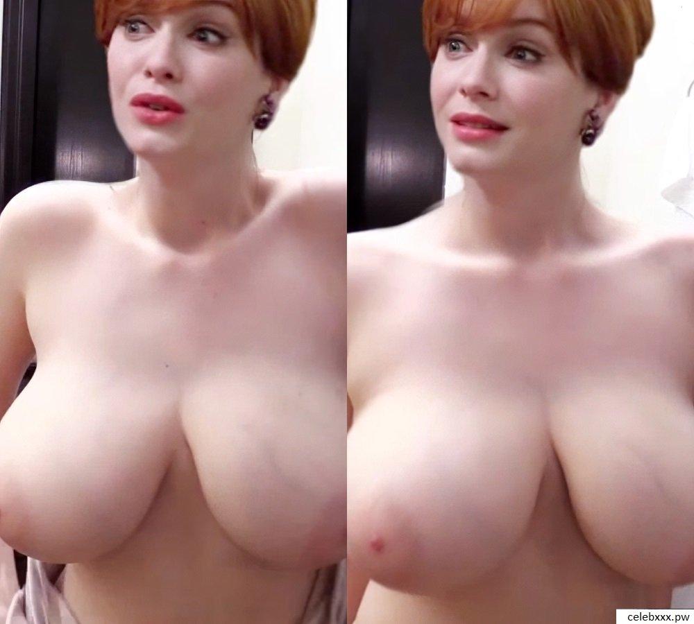 Christina Hendricks  Celebrity Leaked Nude Pictures -4989