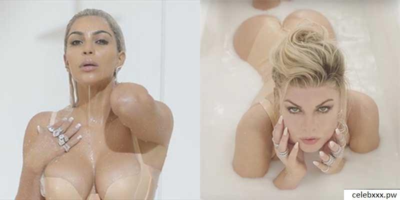 Fergie naked nude