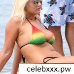 Brooke Hogan Sexy Bikini Pics