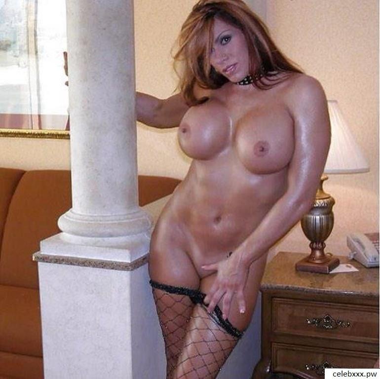April Hunter WWE wrestler nude3