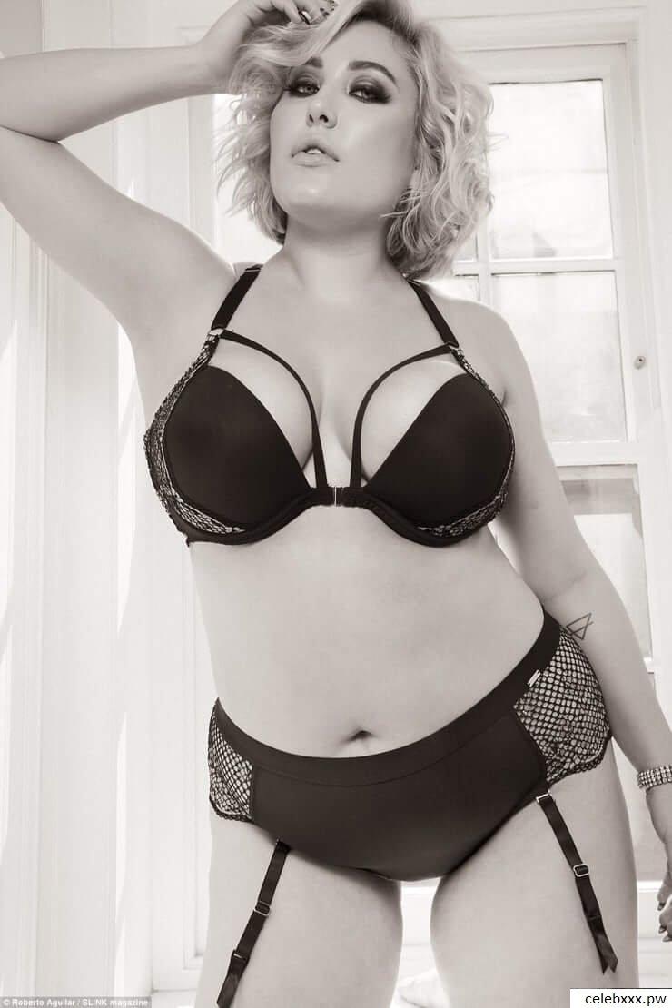 Hayley Hasselhoff Hot Plus Size Model Sexy